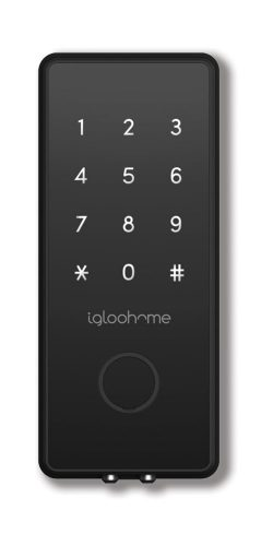 Igloohome Smart Deadbolt2s. Smart Digital App Lock, Syncs with Airbnb, Works Offline, Grant Access Anytime, Anywhere, Immediate Access, Bank-level Security