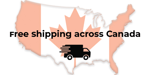 Free Shipping Across Canada